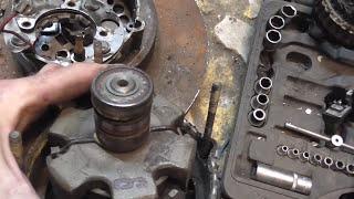 видео Ремонт генератора ВАЗ-2108 (2109-21099)