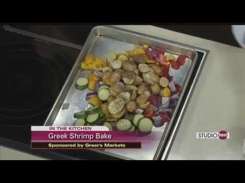 Greek Shrimp Bake part 1