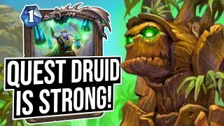 Quest Druid Is A STRONG Performer!! | Saviors of Uldum | Hearthstone