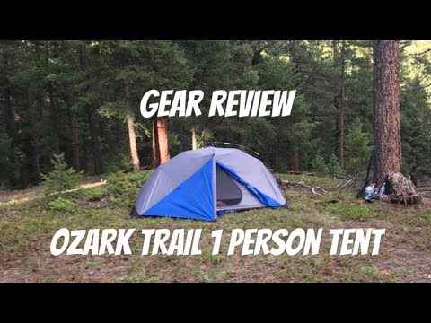 Ozark Trail 1 Person Backpacker Tent Review