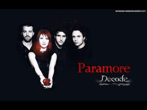 Paramore - Decode - Subtitulado Ingles/Español - YouTube Paramore Youtube