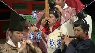 「楽器の紹介」『雅楽をはじめよう 管楽器編』(1)