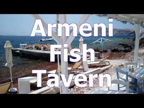 Armeni Fish Tavern Below Oia - SantoriniDave.com