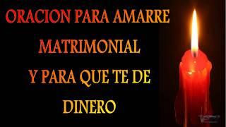 ORACION PARA QUE SE CASE CONTIGO / ORACION DE AMARRE DE AMOR /  PARA QUE TE DINERO.
