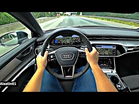 The New Audi A6 2019 Test Drive