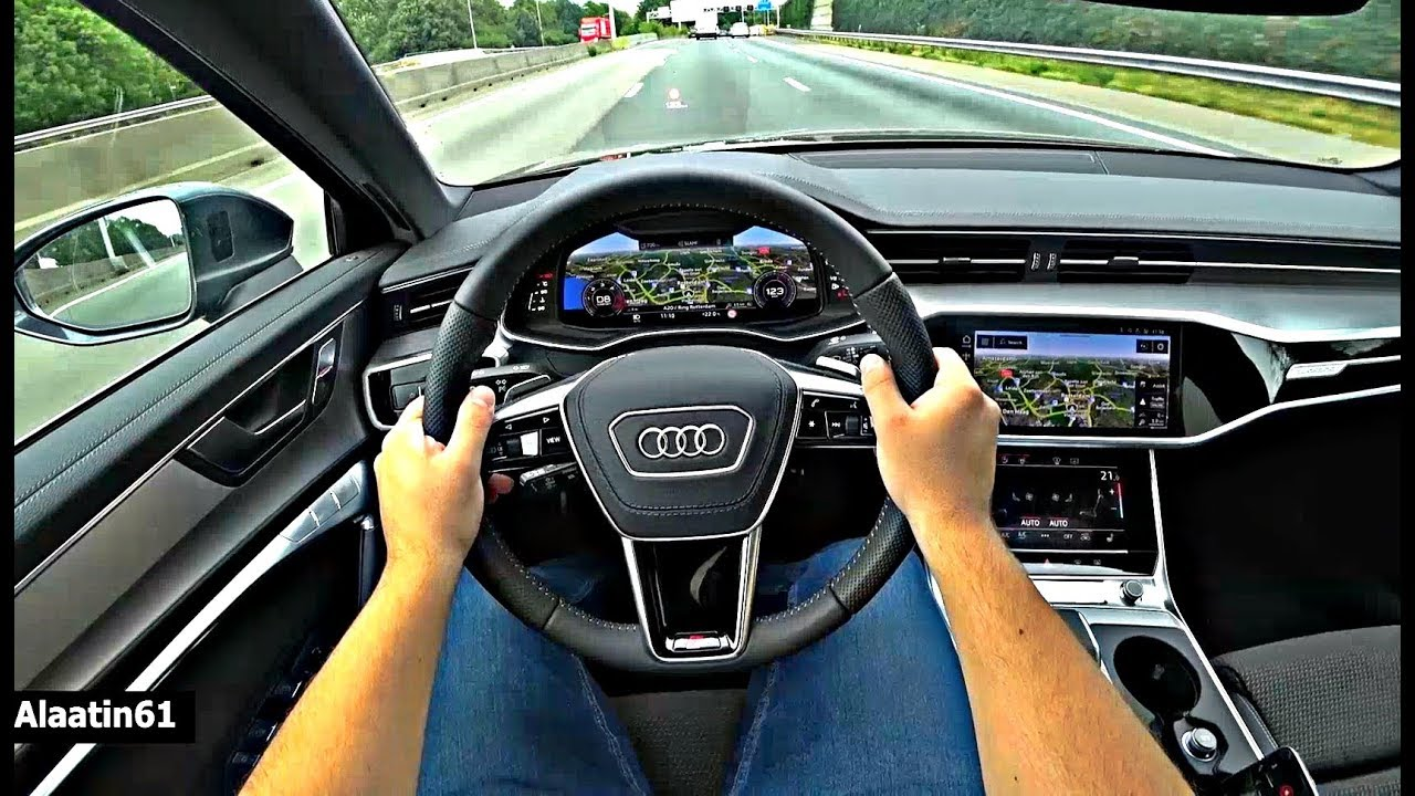 The New Audi A6 2019 Test Drive Youtube