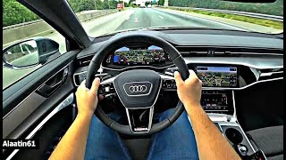 The New Audi A6 2021 Test Drive