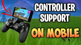 How to use a CONTROLLER on Fortnite Mobile (Bluetooth Controller On Mobile)