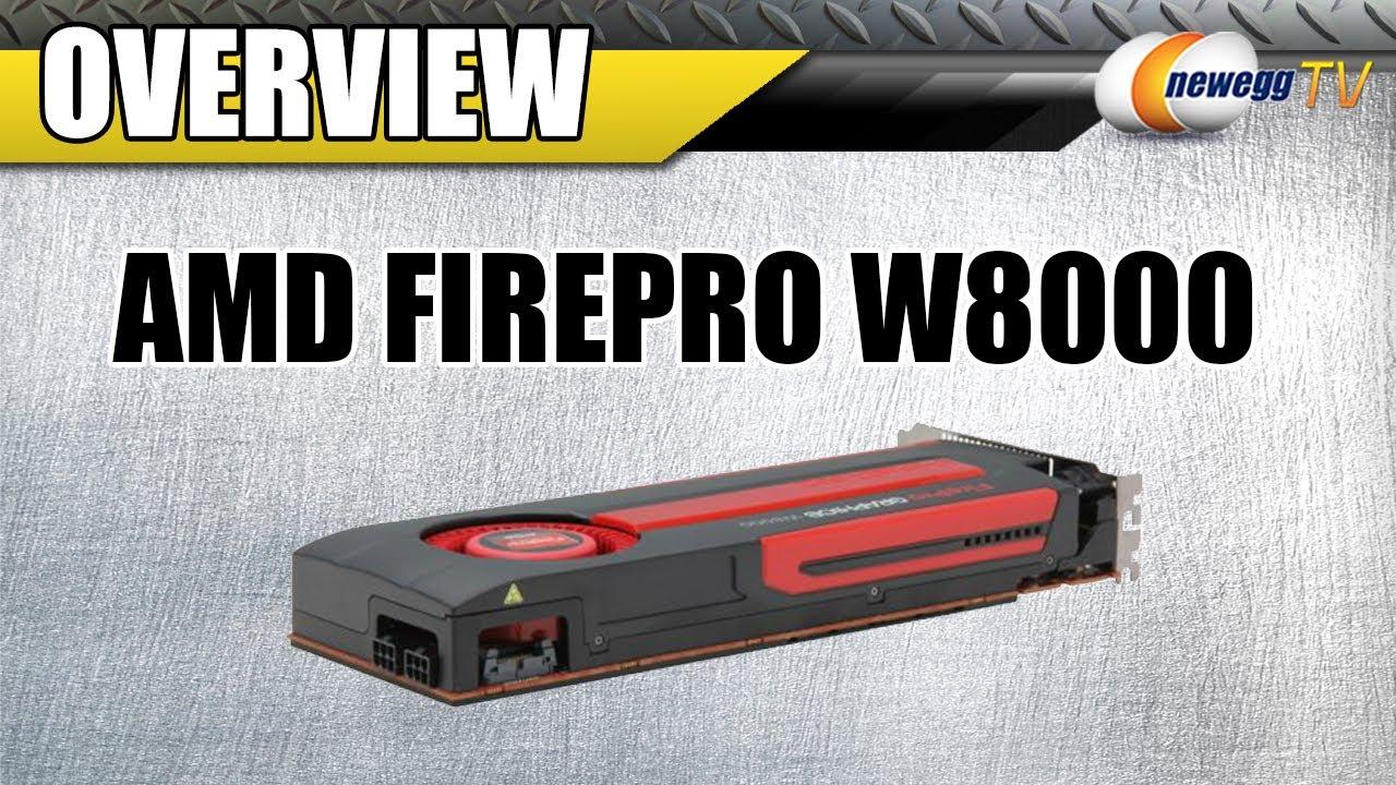 Drivers AMD FirePro W8000