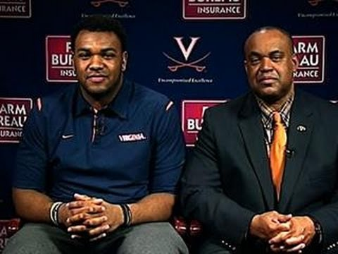 Mike London and Andrew Brown on Virginia football