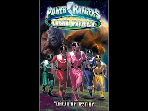 Opening to Power Rangers Time Force: Dawn of Destiny 2002 VHS - YouTube