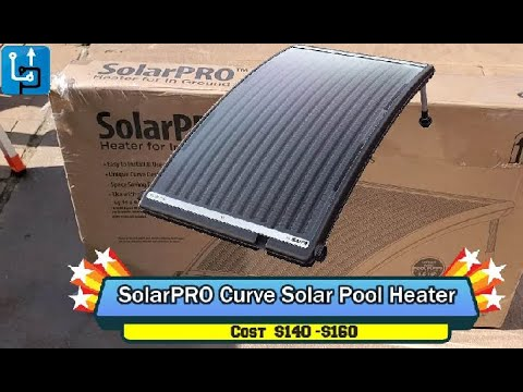 SolarPRO Curve Solar Pool Heater