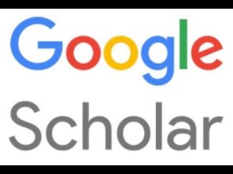 شرح كيفية التسجيل في الحساب العلمي جوجل سكولر Google ...  Google