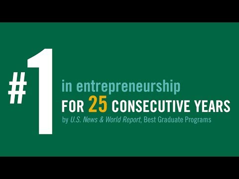 Babson's MBA Program is ranked No. 1 in Entrepreneurship for the 25th Consecutive Year