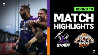 Storm v Wests Tigers | Round 19 2020 | Telstra Premiership | NRL