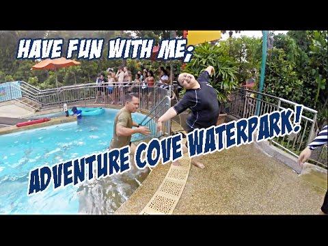 Adventure Cove Waterpark | Sentosa, SG | 4th April 2016 | Alice .B