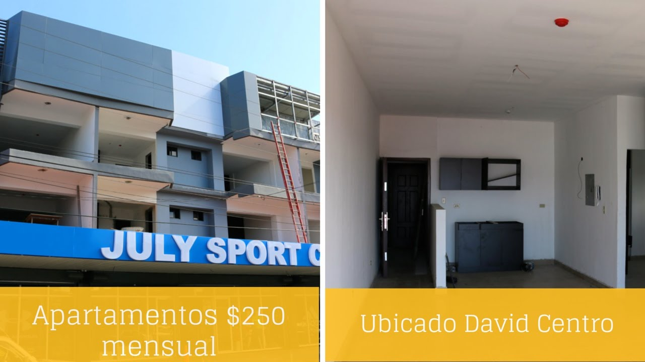 Apartamento u oficina alquiler barato 250 david centro prestige panama realty youtube - Apartamentos alicante alquiler ...