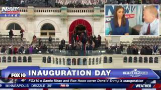 HISTORY: Moments Before Trump Inauguration, FINAL Hours of Obama Presidency , Inauguration Arrivals