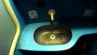 Tren de noapte in Romania - WC