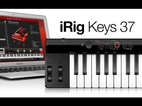 iRig Keys 37 USB MIDI keyboard controller for Mac/PC