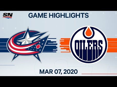 NHL Highlights | Blue Jackets vs Oilers – Mar. 7, 2020