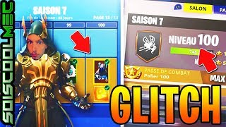 HOW to BE PALIER 100 AND LEVEL 100 EEL AND WHAT! GLITCH FORTNITE BOOST SAISON 7!
