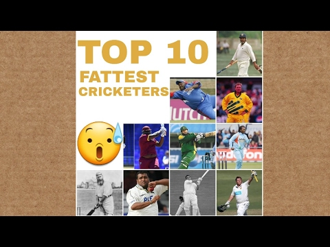 Top 10 fattest cricketer in the world    top 10 everything