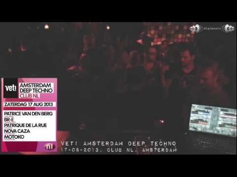 [17-08-2013] Vet! Amsterdam Deep Techno @ Club NL (part 2/3)