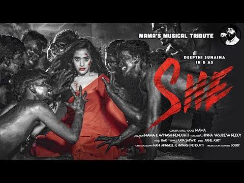 SHE - A tribute to all the women | Ft. Deepthi Sunaina | Mama Sing | Telugu Rap Song