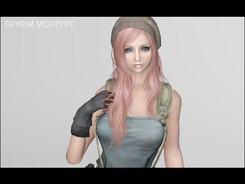 Skyrim Female Jill Outfit Mod (Armor)