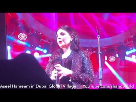 Download اصيل هميم - Aseel Hameem in Dubai Global Village Live Mp4 baru