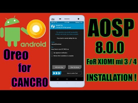 How to Install Android 8 0 Oreo on Xiaomi Mi4/Mi3