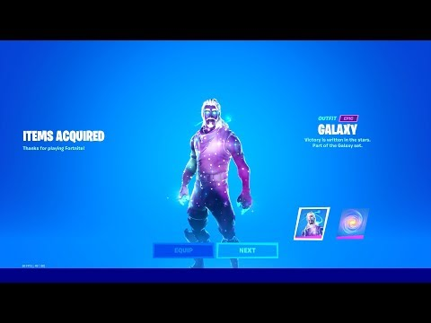 HOW TO GET GALAXY SKIN IN FORTNITE!