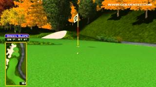 Golden Tee Great Shot on Auburn Glenn!