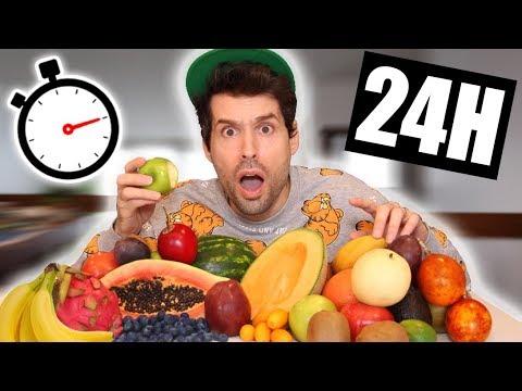 JE MANGE QUE DES FRUITS PENDANT 24H ET... - HUBY