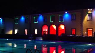 Testing the Content Prior to Pool Party at the Villa Le Pavoniere, Firenze, Italy, 2012 Thumbnail