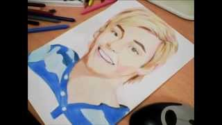 Drawing Ross Lynch by DC