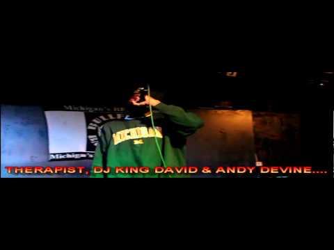DJ KING DAVID PRESENTS DETROIT SKILLS WITH THERAPIST, DJ KING DAVID & ANDY DEVINE. 11-16-2013
