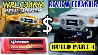 REVIEW LPB 2200MAH 2S BUILD WPL C34KM PART 4