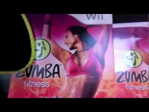 ZUMBA Fitness for Wii UNBOXING & DEMO!