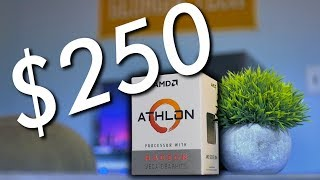 $250 Brand New Gaming PC! - Athlon 200GE vs Ryzen 3 2200G | OzTalksHW