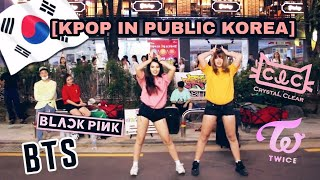 [KPOP IN PUBLIC KOREA] HyunA, CLC, BTS, TWICE, BLACKPINK...