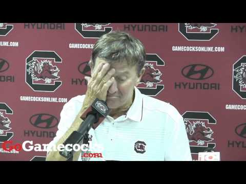 Steve Spurrier after win over Vanderbilt