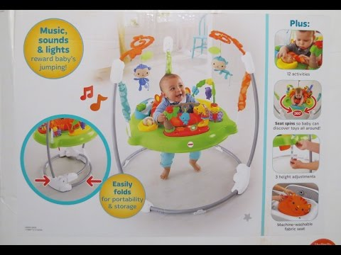 Roarin Rainforest Jumperoo: How To Assemble