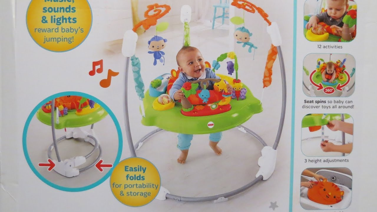 264ab23227c1 Roarin Rainforest Jumperoo  How to Assemble - YouTube