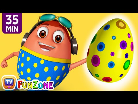 Learn YELLOW Colour with Johny Johny Yes Papa | Surprise Egg