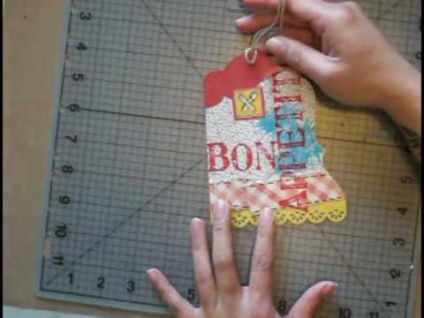 Asymmetrical Tag Using Paper Borders and Trim **Stash CPR Series**