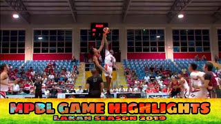 Bicol Volcanoes vs Pampanga Giant Lantern | MPBL GAME HIGHLIGHTS | June 19, 2019