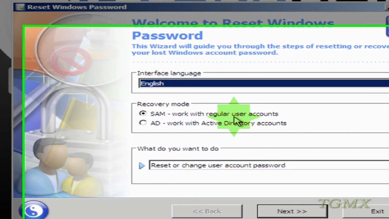 Restablecer la contrase a de usuarios de windows xp vista - Restablecer contrasena ...
