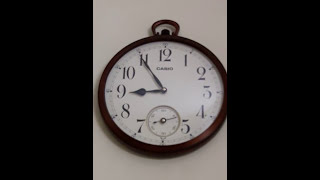 Casio Wall Clock (Analog)... Simply Awesome !! (With subtitles)